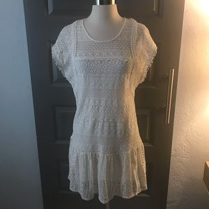 Miss Me Crochet & Lace Dress